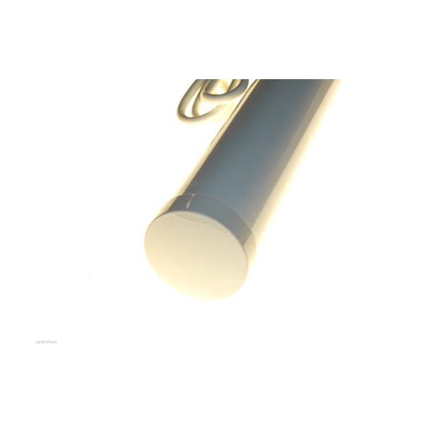 2ft Tubular heater 120W tube heaters 120 watt 600mm IP44 cupboard loft caravan garage kennel greenhouse