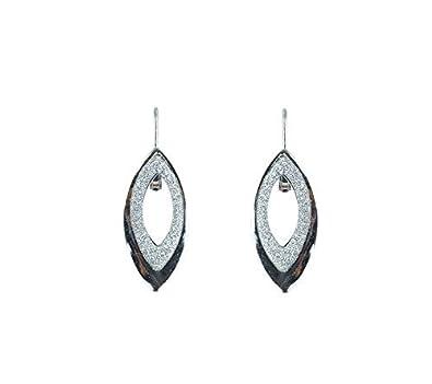13e7e304c8773 Buy Waama Jewels Silver Color Party Wear Dangle & Drop Earring ...