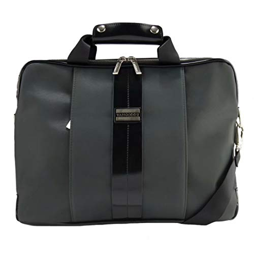 Gray Hybrid Laptop Messenger Briefcase Bag for Acer Spin, Chromebook, Swift, Aspire, Predator Helios, Switch, Nitro, Laptops up to 15.75 inch ()