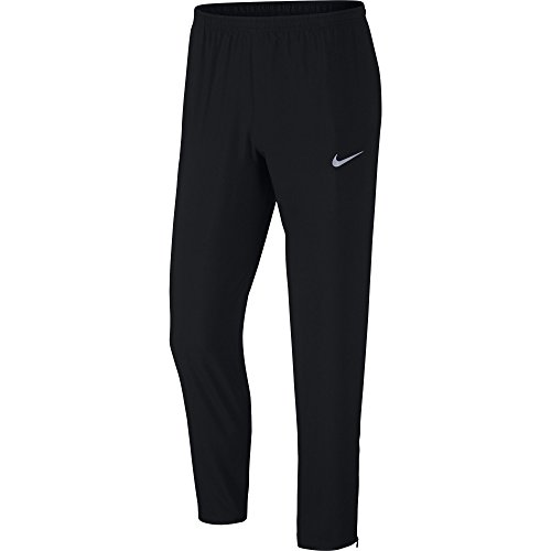 NIKE Men's Running Pants, Black, Medium