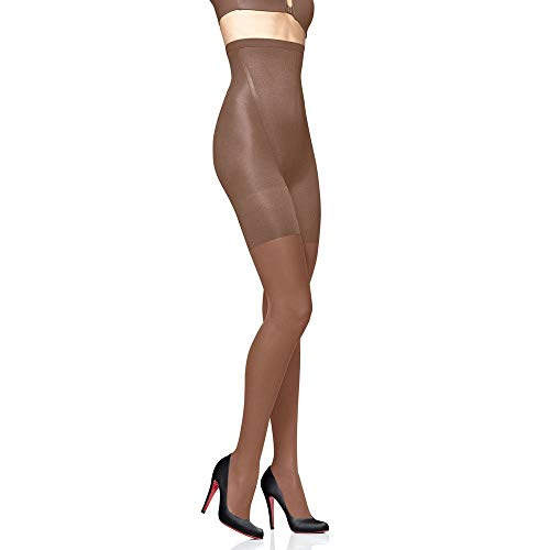 Star Power by SPANX Women's Stand-Out Shaping Sheers 2168 - (COBRW/Brown)