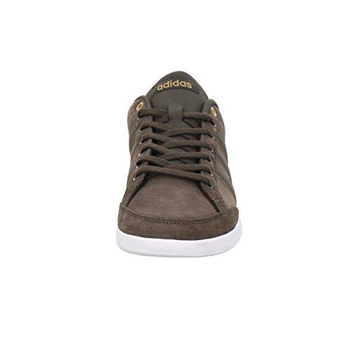 Adidas, Unisex - Erwachsene - Sneaker, Caflaire Braun (dunkel-braun) Weiß-Braun