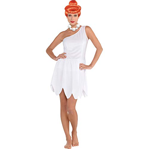 SUIT YOURSELF Wilma Flintstone Halloween Costume for Women, The Flintstones, Standard Size, Includes Accessories]()