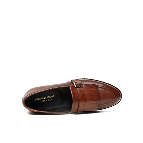 British Passport Loafer, Mocassins Pour Homme Noir Noir
