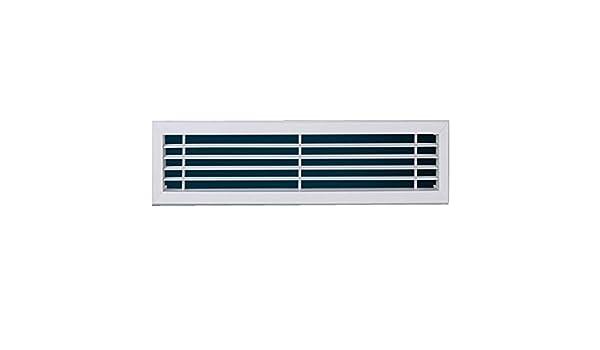 Rejilla de ventilación de aire acondicionado, Difusor de acero plástico ABS interior y exterior Rejilla de filtro de techo de aire acondicionado central, Ventilaciones para techos de paredes lateral: Amazon.es: Hogar