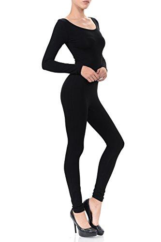 7760a0c6af6e Ladybug Women Catsuit Cotton Lycra Tank Long Sleeve Yoga Bodysuit Jumpsuit