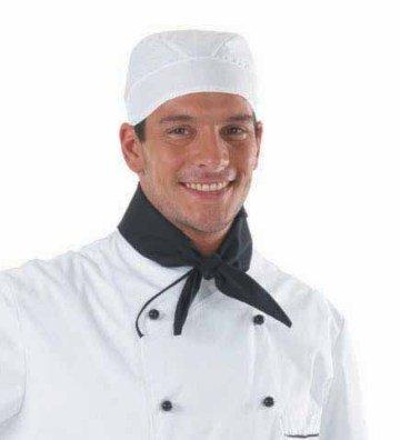 Bandana cucina chef cuoco 100/% cotone colore bianco taglia unica mt0401
