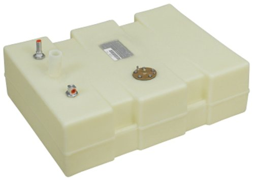Moeller Marine 032512, Below Deck Permanent Fuel Tank, 12 Gallon - 24.50 in. L x 18.50 in. W x 9.75 in. H