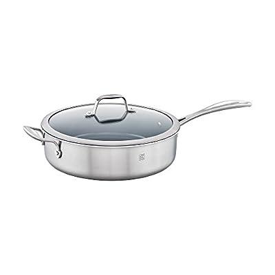 ZWILLING Spirit 3-ply Stainless Steel Ceramic Nonstick Saute Pan