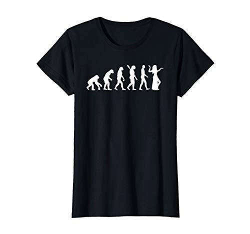 Womens Evolution belly dance T-Shirt