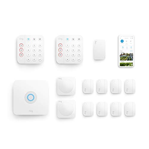 Ring Alarm 14-piece kit (2nd Gen) + Ring Protect Plus Plan with annual auto-renewal