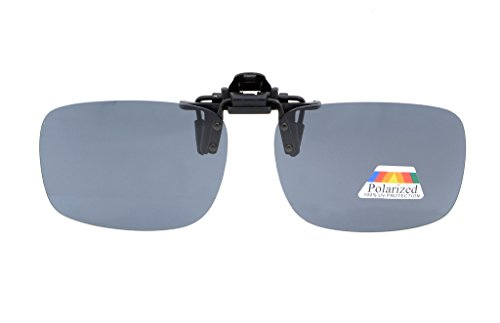 (Eyekepper Flip-up Clip-on Sunglasses Polarized 2 3/8