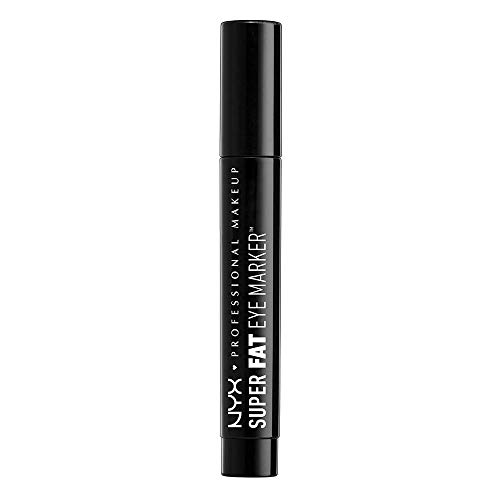 - NYX Professional Makeup Super Fat Eye Marker,SFEM01 Carbon Black