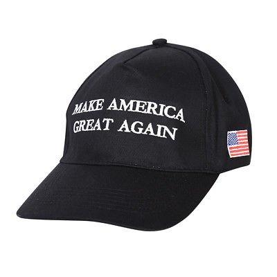 Proud Of America Make America Great Again Donald Trump USA Cap Adjustable Baseball Hat Red