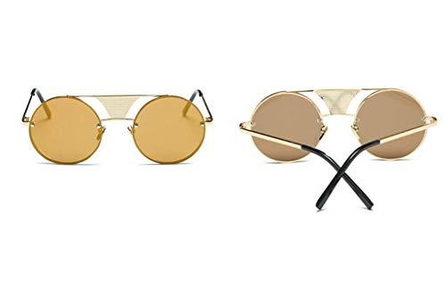 Femmes Unisexes Mode de Protection Rondes YTTY Ultra Lunettes h UV Soleil Lunettes de légères w7q6IZxS6