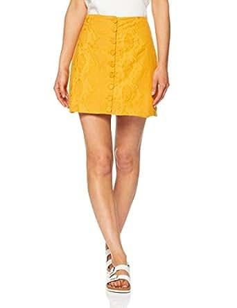 THIRD FORM Women's Fields Mini Skirt, Honey, X-Small