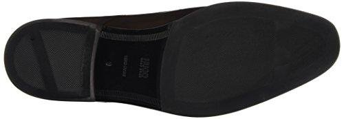HUGO Square_Derb_ltls 10193330 01 - Zapatos Derby para hombre Marrón (Dark Brown 202)