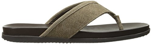 Ben Sherman Mens Milo Thong Dress Sandal Taupe - I zCTxoQH3