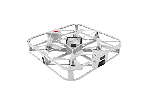 ROVA Flying Selfie Drone with 12MP Camera and HD Video (White) by IOTGroup