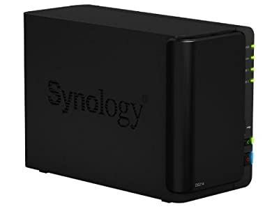 Synology DiskStation 2-Bay (Diskless) Network Attached Storage (NAS) DS214