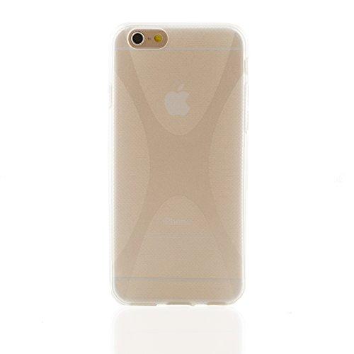 """iProtect housse de protection Soft Case cuir synthétiquee X-Line pour Apple iPhone 6 (4,7"""") en transparente"""