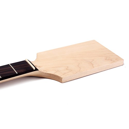 MagiDeal Exquisite Wood Unfinished Guitar Body + Neck Fretboard for Fender ST Electric Guitar DIY Parts by non-brand (Image #5)