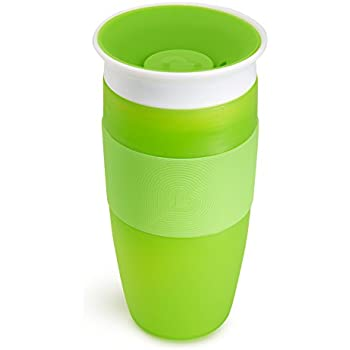 Munchkin Miracle 360 Sippy Cup, Green, 14 Ounce