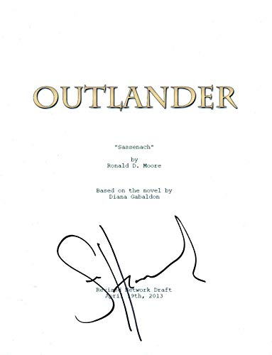 Sam Heughan Signed Autographed OUTLANDER Pilot Script COA from Unknown