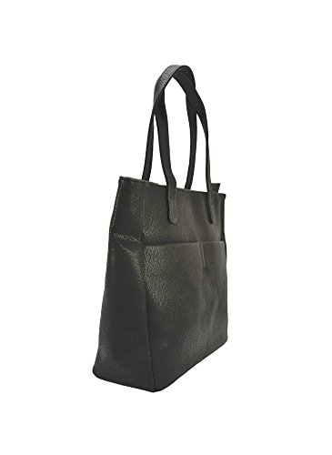 Modanana , Damen Tote-Tasche schwarz schwarz
