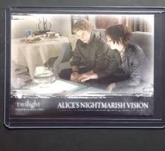(Twilight Premium Trading Cards - Card #62 - Alice's Nightmarish Vision)