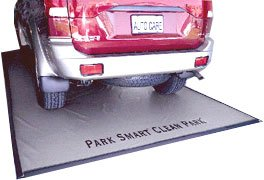 Park Smart Clean-Park Silver Mat - X Large: 9 ft. x 20 ft.