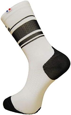 Rafa l Boa Calcetines Bicicleta Unisex, Color Blanco/Negro, FR: L ...