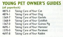 Small Animal Book Rabbit - Barrons young guide g.pig