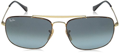 THE Ban SHADED COLONEL Ray HAVANA RB Soleil Lunettes GOLD homme BLUE 3560 de PdXqxaIrwq