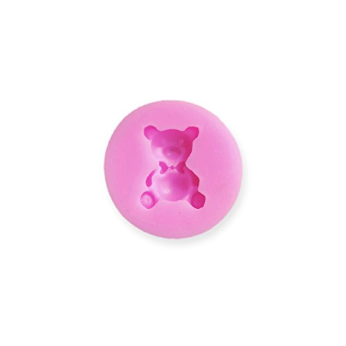 - 1 inch Cakepop / Cupcake Topper Teddy Bear Silicone Mold - Baking, Caking and Craft Tools from Bakell