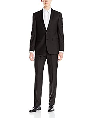 Calvin Klein Men's X Slim Fit High Performance Stretch Suit Separate Pant
