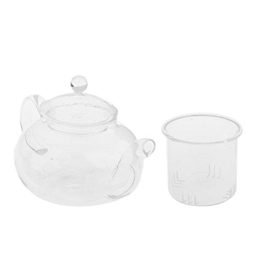 glass 250ml teapot - 9