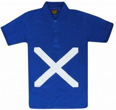 Unisex polo de bandera de Escocia, Unisex: Amazon.es: Deportes y aire libre