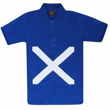 Unisex polo de bandera de Escocia, Unisex: Amazon.es: Deportes y ...