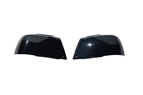 Auto Ventshade 37045 Dark Smoke Headlight Covers for 2010-2013 Chevrolet - Headlight Covers Gto