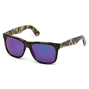 Sunglasses Diesel DL 116 DL0116 44X orange/other / blu mirror