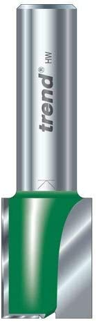 1//2 Shank Trend C025Dx1//2Tc Two Flute Cutter 16Mm Diameter