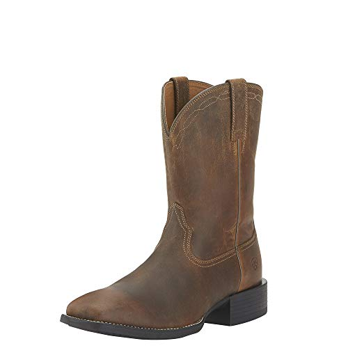 ARIAT Heritage Roper Wide Square Toe Western Boot Size 12 D/Medium US
