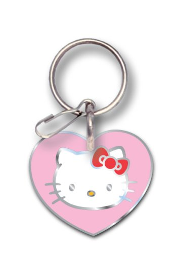9e6ef3834 Amazon.com: Plasticolor Officially Licensed Hello Kitty Enamel Key Chain:  Automotive