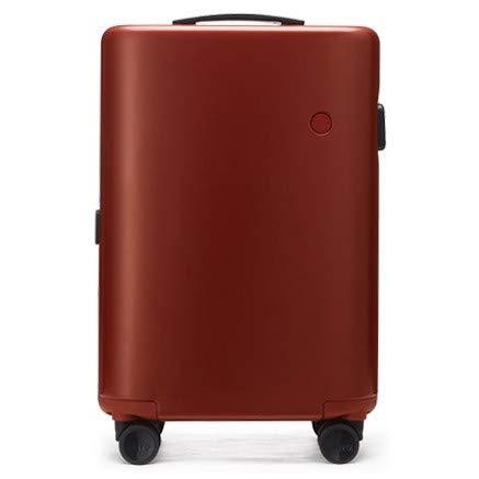 [ITO Pistachio] スーツケース キャリーケース キャリーバッグ キャリーバック 修学旅行 出張 ビジネス 国内旅行 海外旅行 ファスナー キャリー ギフト プレゼント ファスナー ダブルキャスター ダイヤルロック TSAロック M Firebrick/プレーン B01J4WYEJ2