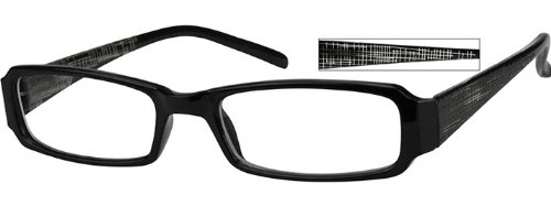 236521 Plastic Full Rim Frame With Spring Hinges