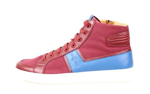 Bil Sko Mens Kut717 010 F0399 Läder Sneaker