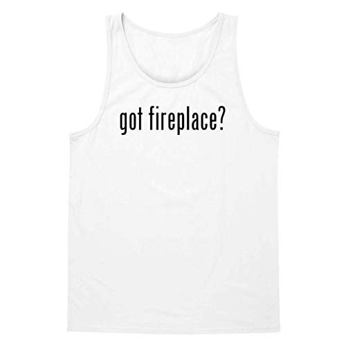 - The Town Butler got Fireplace? - A Soft & Comfortable Men's Tank Top, White, XX-Large