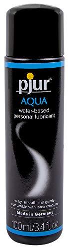(Pjur Aqua Premium Water-Based Personal Lubricant 3.4 Fluid Ounce / 100 Milliliter)