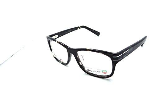 Tag Heuer Urban Phantomatik Rx Eyeglasses Frames Th 0534 002 53x17 Grey Tortoise